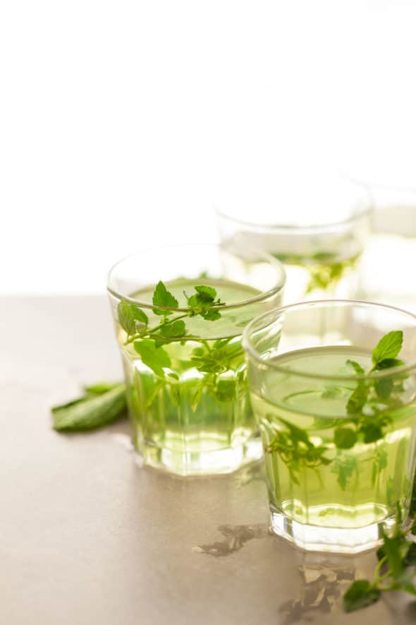 Making fresh peppermint tea at home is easy and great for digestion.