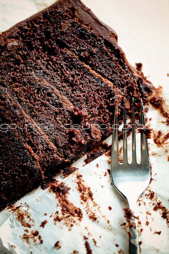 chocolate cake dig in 1 of 1 2 Imagining | A New Year