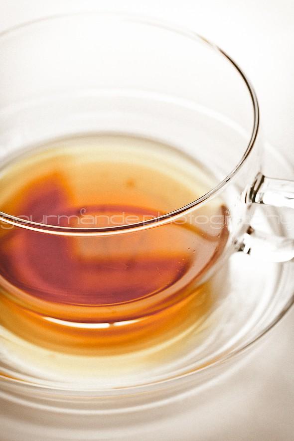 fresh mint tea image