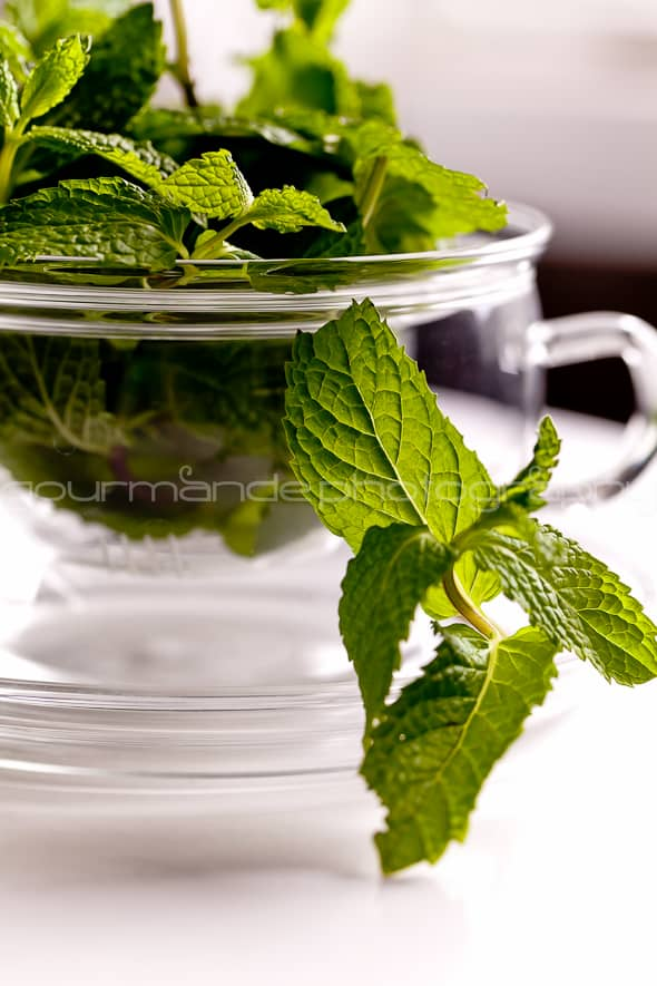 mint tea mint leaves in cup 1 of 1 Fresh Mint Tea | A Nice Cuppa
