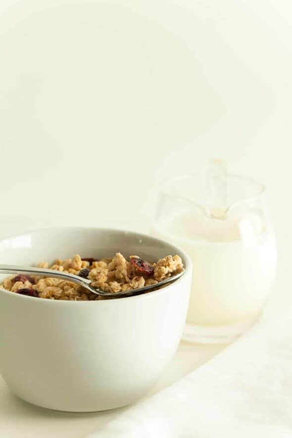 Gluten-Free Granola in Bowl