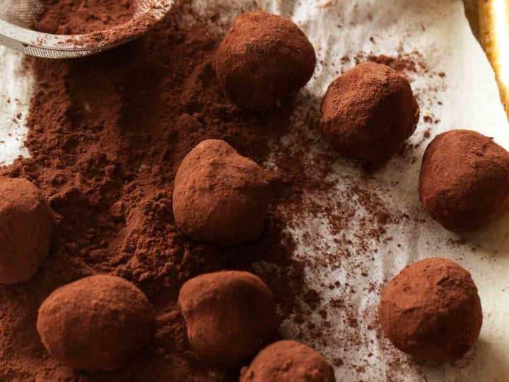 Blueberry Chocolate Truffle Recipe