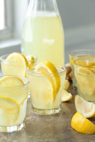 Honey Ginger Lemonade (With 8 Variations)