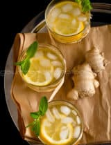 Honey Ginger Lemonade Recipe