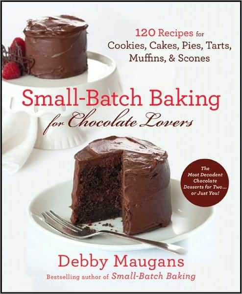 Small Batch Baking For Chocolate Lovers Book small batch baking for chocolate lovers giveaway