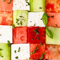 watermelon, tomato, cucumber and feta cubes (1 of 1)