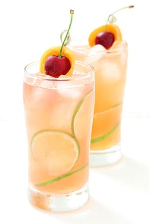 Apricot and Cherry Drink