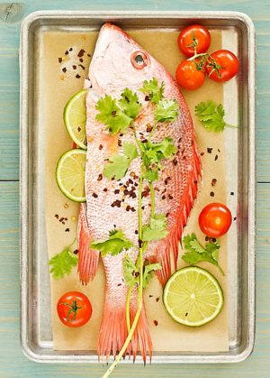 Grilled Red Snapper