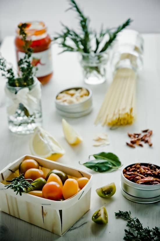 Herbs Tomato Pasta by Meeta K. Wolff