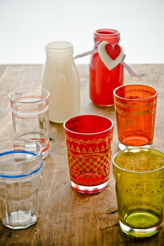 colorfull glassware by Meeta K. Wolff