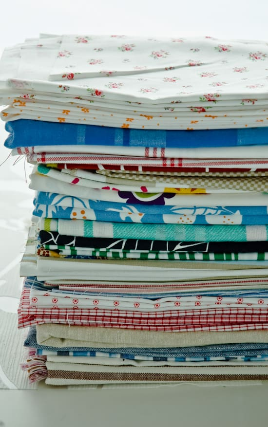 Linens for prop styling by Meeta K. Wolff