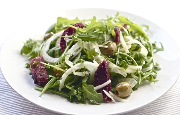fennel arugula salad