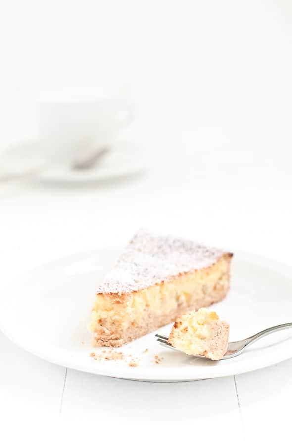 pastiera cake slice by Ilva Beretta