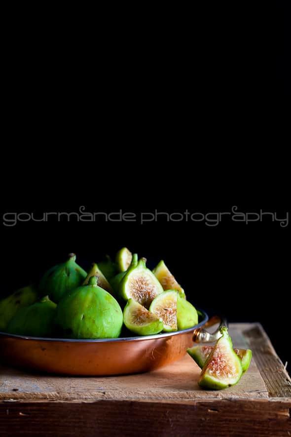 green figs, fresh figs, Calimyrna figs