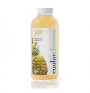 pineapple ginger juice cooler cleanse