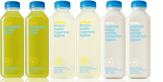 tasting flight BluePrintCleanse vs. Cooler Cleanse | Sizing up the Juice Cleanses