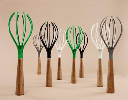 colored whisks