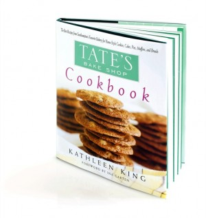 Tates Bake Shop Cookbook image1 300x317 Tates Bakeshop Giveaway | Gluten Free Cookie and Brownie Basket with Cookbook