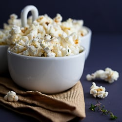 Truffle Butter, Parmesan and Thyme Popcorn-2