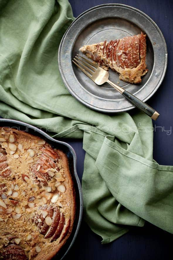 pear almond clafoutis 3 2 Pear Almond Clafoutis (or is it a Flognarde?) | Gluten Free, Grain Free, Paleo
