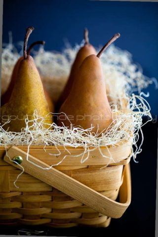 Pear Almond Clafoutis (Flognarde)