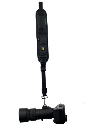 Black Rapid Strap Attached to a Camera