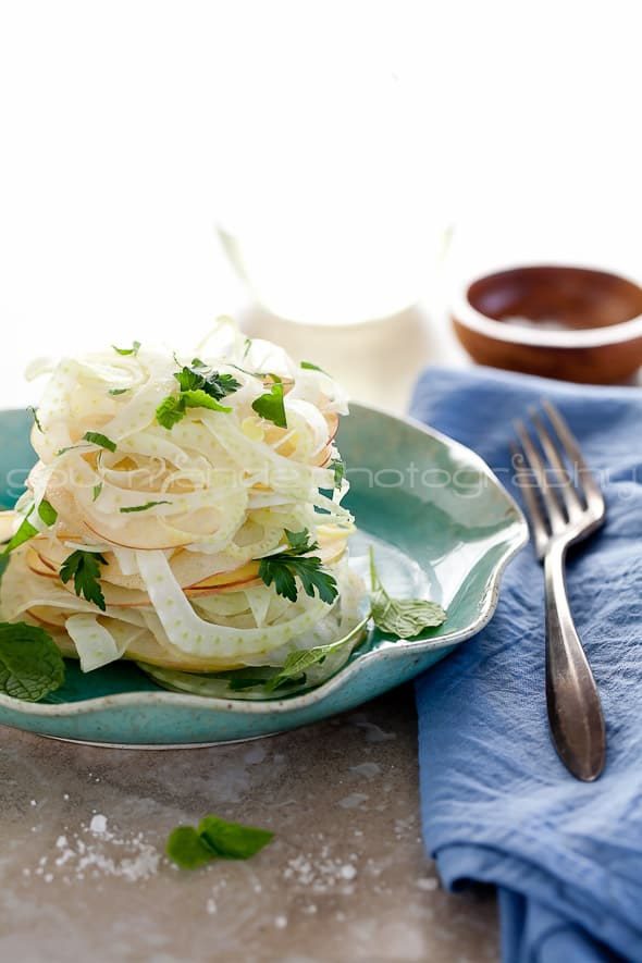 Fennel, Apple, Celery Salad Recipe Gourmande in the Kitchen
