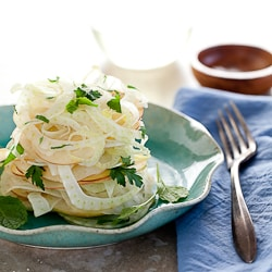 Fennel, Apple, Celery Salad