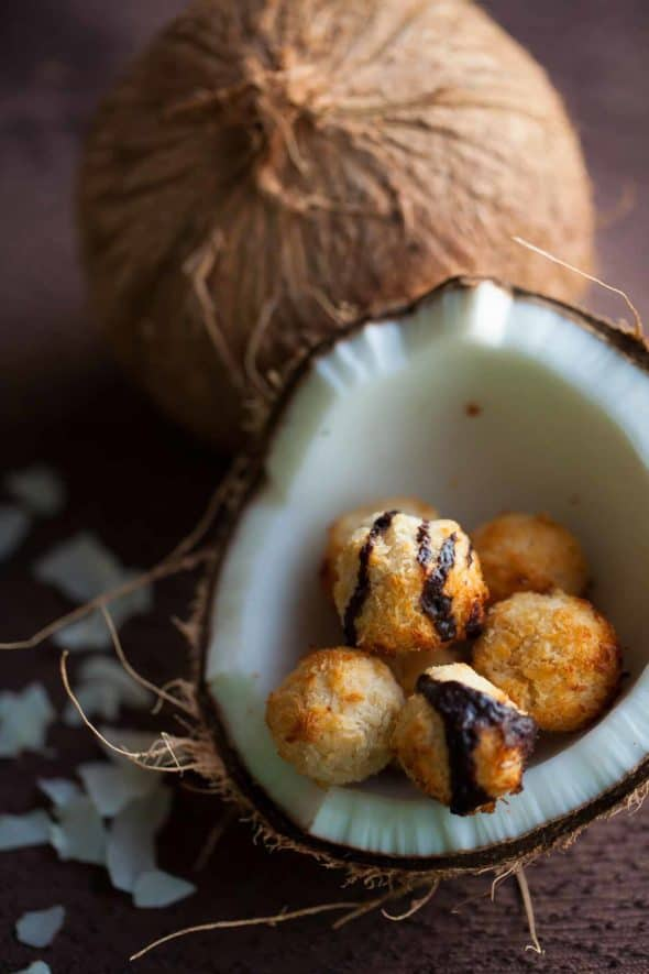 These honey coconut are soft and chewy.