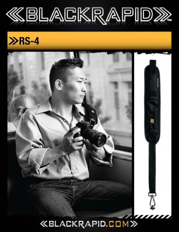RS-4 Black Rapid Camera Strap