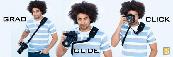 grab glide click Black Rapid Camera Straps