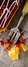 lemon raspberry tart
