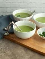 Broccoli Spinach Soup (Paleo, Vegan)