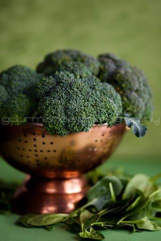 Creamy Broccoli Spinach Soup   A Bowl of Green