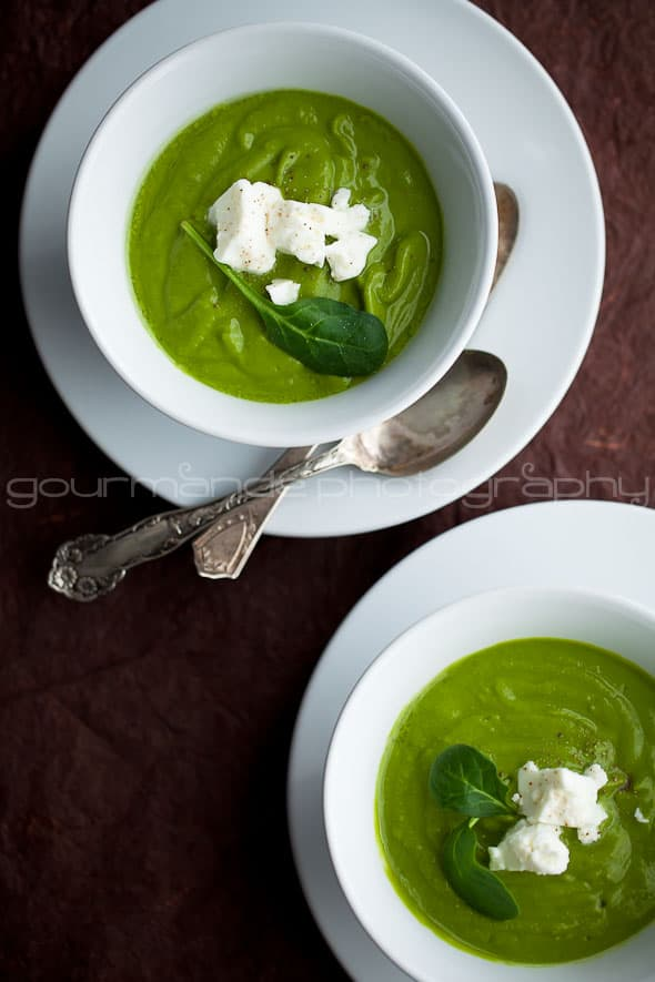 Broccoli and Spinach Soup Sylvie Shirazi