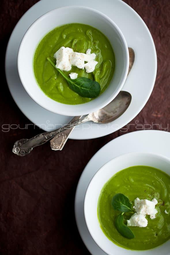 Broccoli and Spinach Soup Sylvie Shirazi
