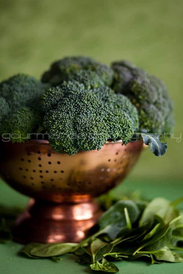 Broccoli and Spinach Sylvie Shirazi
