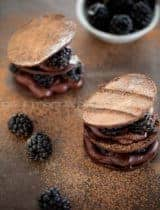 Chocolate Blackberry Mille-Feuille | For the Love of Chocolate