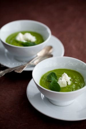 Creamy Broccoli Spinach Soup Sylvie Shirazi