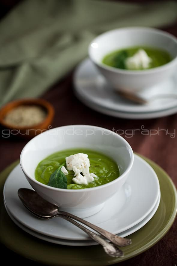 Creamy Broccoli Spinach Soup 5 Creamy Broccoli Spinach Soup | A Bowl of Green