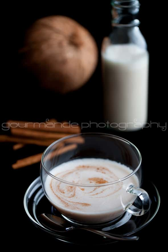 Hot Spiced Cashew Coconut Milk Sylvie Shirazi 2 Hot Spiced Cashew Coconut Milk | For a Cold Night