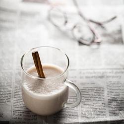 Hot Spiced Cashew Coconut Milk Sylvie Shirazi