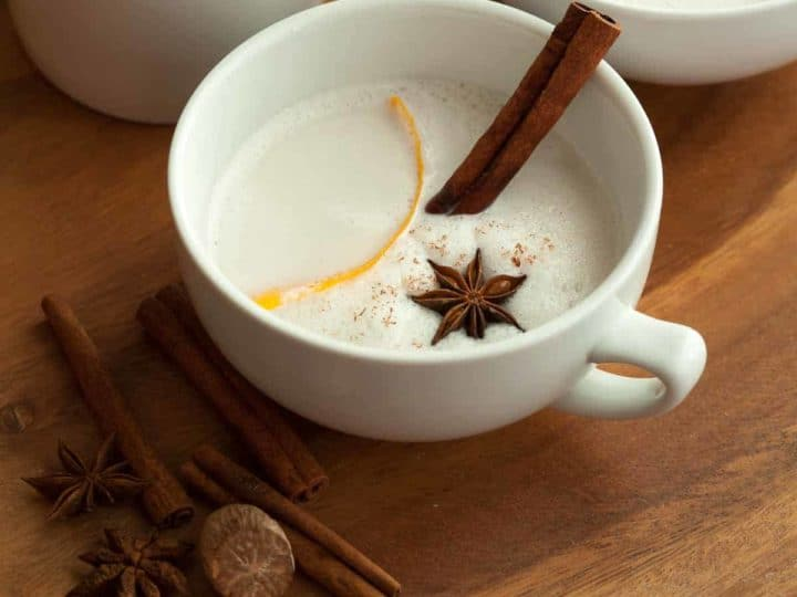 Vegan Warm Spiced Cashew Coconut Milk (Paleo)