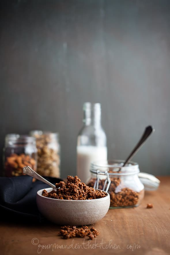 Chocolate Grain Free Gluten Free Granola Gourmande in the Kitchen