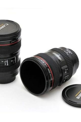 Canon and Nikon Camera Lens Mug Giveaway