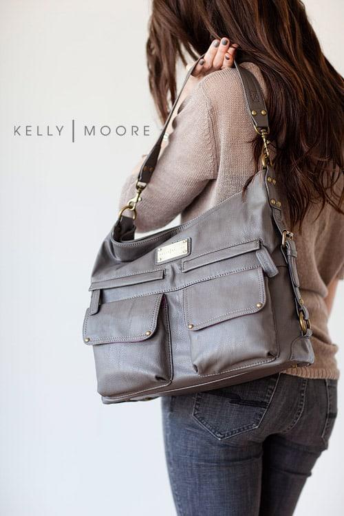 kelly moore 2 sues bag grey