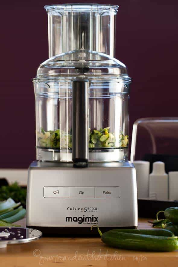 16-cup Magimix by Robot Coupe Food Processor, Gourmande in the Kitchen, Sylvie Shirazi Photography