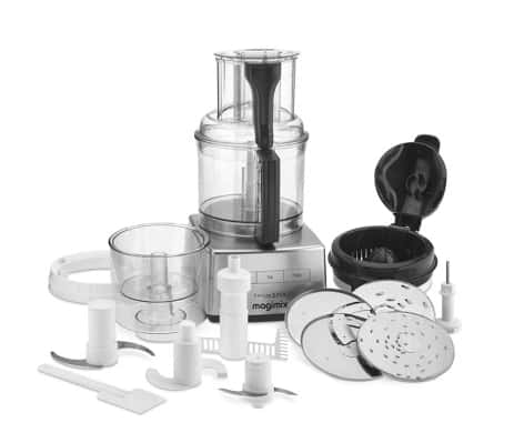 Magimix Food Processor and Attachments Magimix by Robot Coupe Food Processor Review and Giveaway (ARV $500) | The Original Food Processor