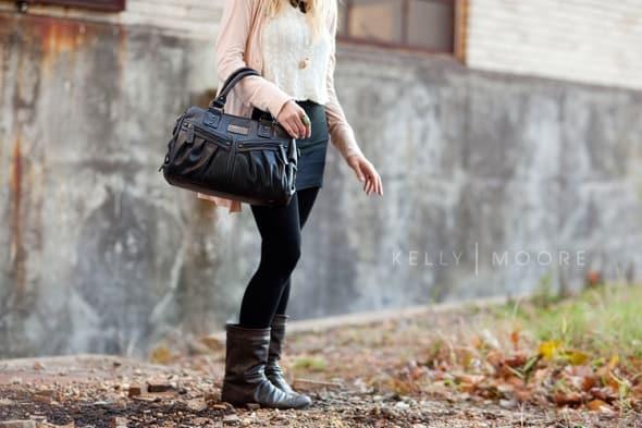 mimi bag kelly moore black