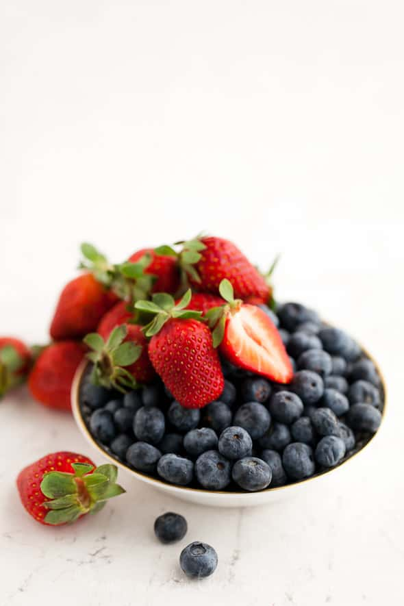 Blueberries and Strawberries 38 Eating in Good Health